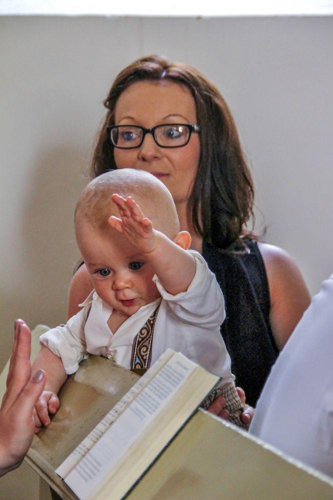 Kirchliche Taufe Knipseinbild
